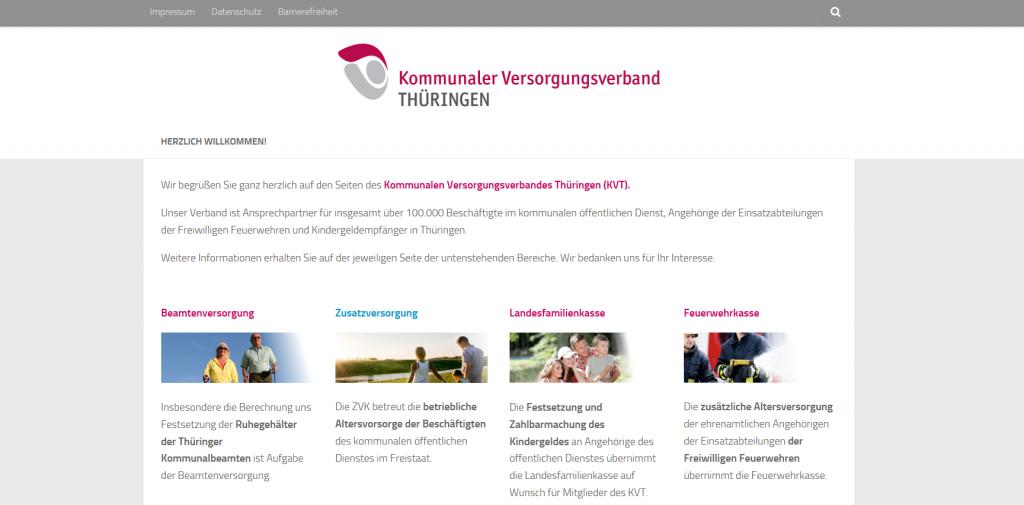 Unter www.kvt-zvk.de präsentiert sich der Verband in neuem Gewand!